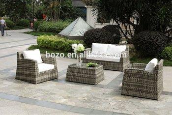 Stackable Rattan Outdoor Sofa Furniture