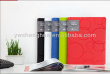 2015 Professional colorful economic a 4 plastic file folder/pp file folder