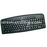 USB black colour Multimedia pffice computer keyboard