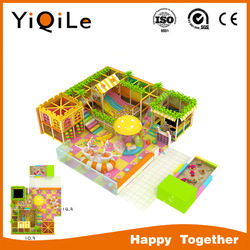 latest amazing design colorful style playground indoor, indoor playground equipmentkids naughty castle