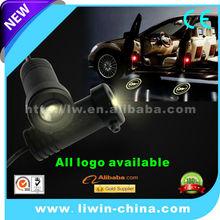 2015 new arrival customizing car logo laser door light for motorcycle ATV