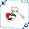 different country souvenir metal keychain,custom keychain