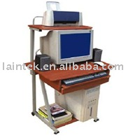 cheap price MDF Wooden office computer pc table
