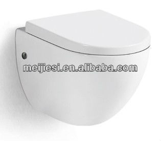 high quality p-trap sanitary ware ceramic bathroom toilet bowl accessories set european wall hung toilet