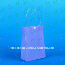#JD997 PVC cosmetic packaging bag with botton closure