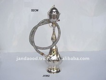 Hookah made in brass one outlet and other finishes like nickel plated also available