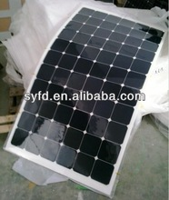 80W/90W/100W/110W/120W USA Sunpower Semi Flexible Solar Panel with Make in China for European