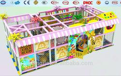 latest amazing design colorful style playground indoor playground equipmentkids naughty castle