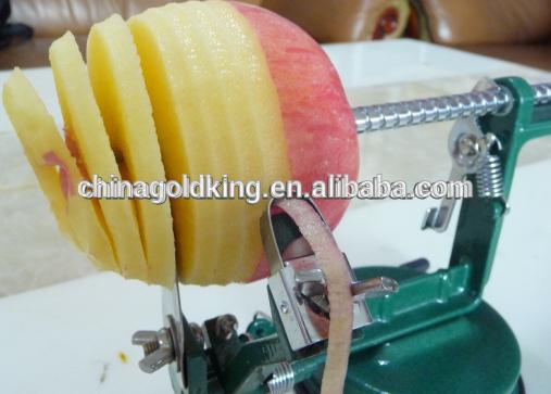 multi-function aluminum alloy apple peeler corer slicer