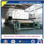 1575mm small type waste carton recycling testliner paper making machine