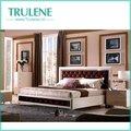 haute blanc brillant mobilier de chambre ensemble