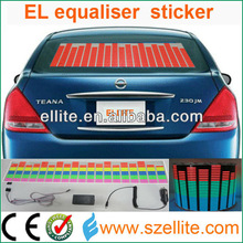 Hot ! 2014 most popular sound activated muilti-color car equalizer