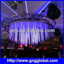 360 degree dmx led meteor light tube for decoration