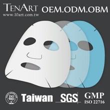Hyaluronic Acid Moisturizing Whitening Natural Silk Facial Mask Sheet face mask Private Label Wholesale