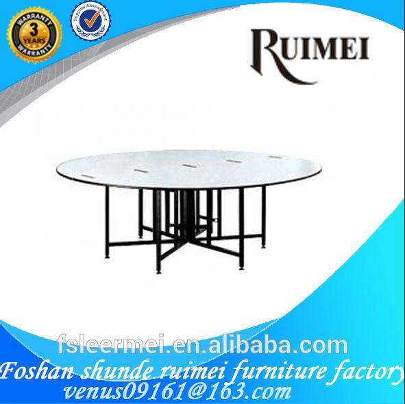 2014 new design folding dinning table used in restaurant