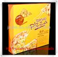 a buon mercato cinese 2014 pizza box personalizzato su misura di alta qualità asporto pizza box