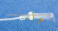 piscina de plástico flutuante skimmer com mangueira e conector