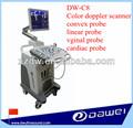 Carro dw-c8 ultrasonido doppler color equipo de diagnóstico& doppler color de la máquina de eco