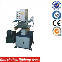 TJ-63best price hydraulic refrigerator /wine box hot stamping machine