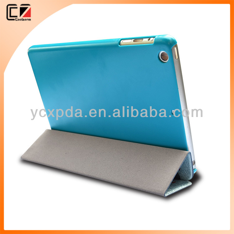 Flip leather case for apple ipad mini, for leather cover mini ipad, for case ipad mini