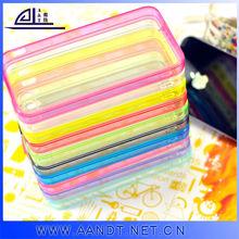 popular Soft TPU Bumper Phone Cases for iphone 4 newest tpu wholesale case