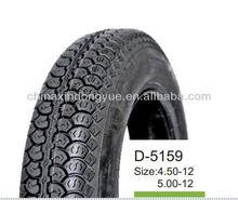 factory motorcycle tire , 4.50-12 , 5.00-12 three wheel tire