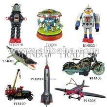 Tin Toy (Robot, Rocket, Car, Plane, Motor)