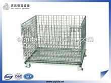 Storage equipment wire mesh container