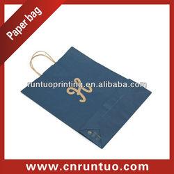 Luxury kraft paper bag, OEM production paper shopping bag