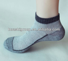 bulk stock mens ankle socks/cheap socks