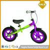 12 Inch EU Standards Blue and White Kid Bici No Pedals Kids Push Bike