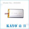 3.7v li-po battery 4100mAh 055065 high capacity