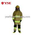 Lutte contre les incendies de l'armée uniforme de cérémonie vêtements de protection, pompier uniforme de cérémonie