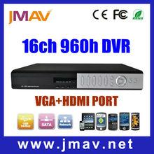 H.264 16CH DVR, DVR Recoder HD 960H HDMI h.264 Motion Detection Alarm