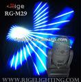 100 w led spot moving head luz / eletrônico foco linear / Strobe / rotação 3-facet Prism