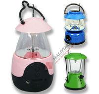 Portable led camping light with fm radio Radio with led camping light