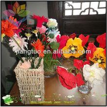 red rose bush artificial flower For Wedding