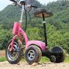 life04 22AH roadpet ginger mypet zappy three wheel electric scooter with front suspension