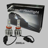 Hot Sale Cree XM-L2 with 2000LM car led light, H4/H7/H8/H9/H10/H11/H16 led lights car, 9005/9006/P13/PSX24/PSX26 led car light