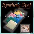 opala sintética carta de cor para cores diferentes