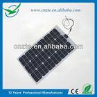 High power flexible solar panel module, 240w folding solar panel for boat/yacht/caravan use
