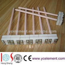 platinum rhodium thermocouple ceramic tube temperature sensor B S R type