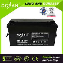 2014 Ocean 12v 200ah valve lead acid battery for solar ups include OPzS OPzV PzS SLA VRLA