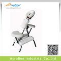 acrofine silla de masaje portátil con portex01 durable de cuero del pvc