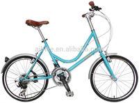 AiBIKE - Low Step - 20 inch 21 speed ladies bike