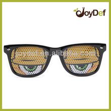 Hot Sale Pinhole Glasses Party Sun Glasses Party Club Cartoon or Image or Logo on lens Pinholes lens
