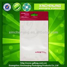 White Plastic Custom printing OPP Plastic Bag