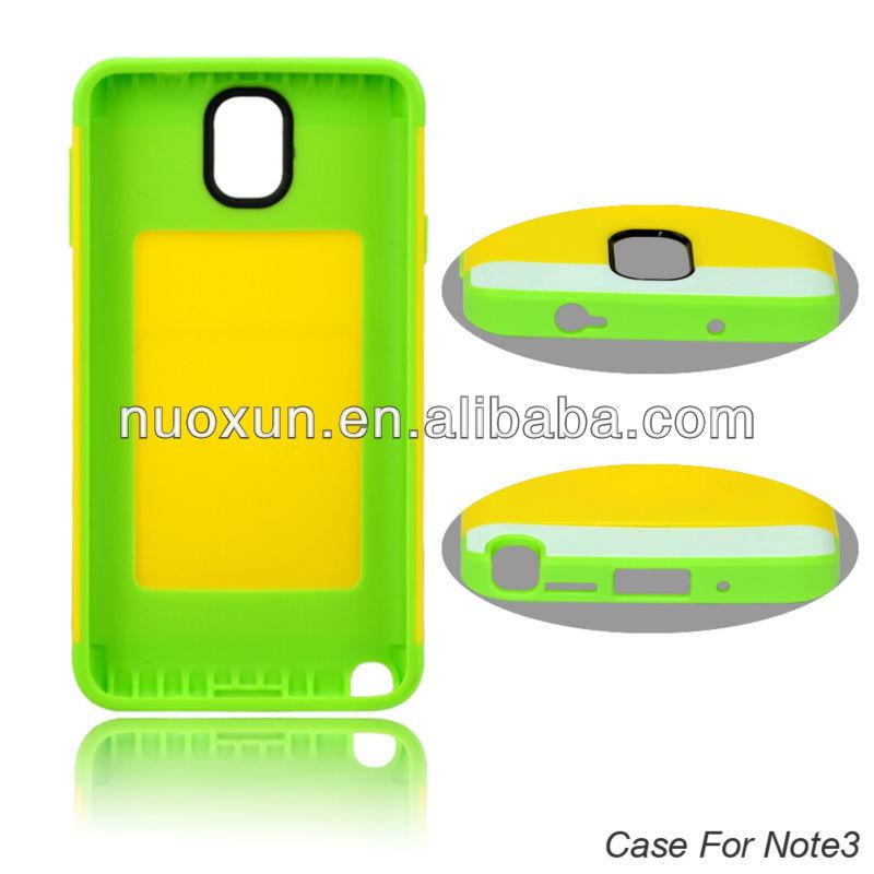 Sản phẩm mới nhất tùy chỉnh bao điện thoại di động cho Samsung Note 3