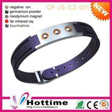 Eco-Friendly Magnetic Fashion Purple Acrylic Design Fashion Jewelry Set