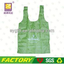Fashion foldable 600d polyester cooler food bag